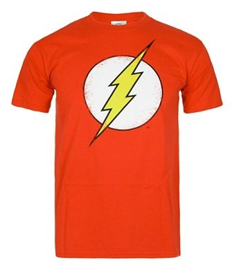 Marvel & DC Sale mit bis zu 61% Rabatt - z.B. T-Shirt Flash Distress rot für 13€ (statt 20€)