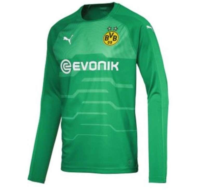 Puma BVB Borussia Dortmund Herren Torwart Trikot LS Jersey für 14,98€ (statt 52€)