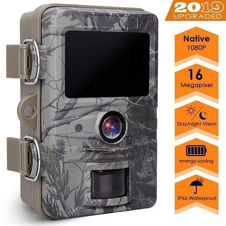AGM 16MP Wildkamera mit 1080p Aufnahmen & Nachtsicht für 56,79€ inkl. VSK