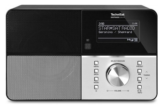 TechniSat DIGITRADIO 306 IR - Internetradio, DAB+, UKW, WLAN für 99,99€