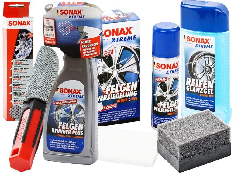 4-tlg. Sonax Xtreme Felgenreiniger-Set für 34,95€ inkl. Versand