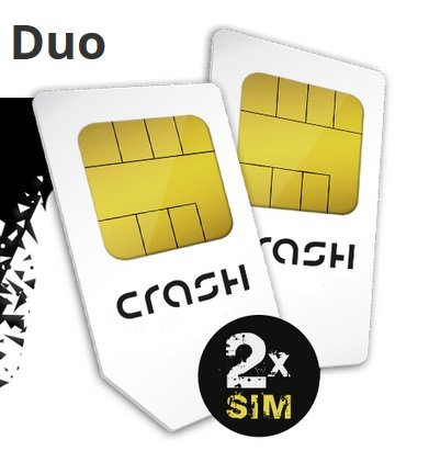 2x crash Smartphone Flat 500 mit 100 Frei-Min & 500MB je nur 1,99€ Monat
