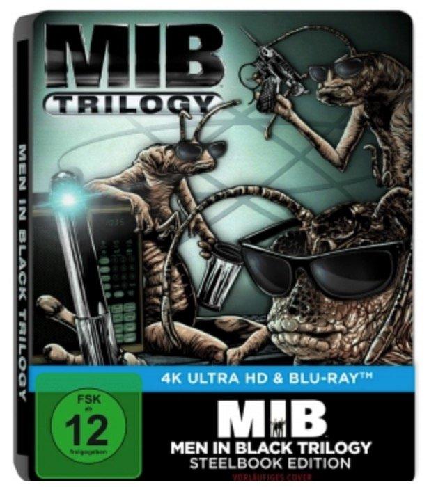 Men in Black 1-3 4K Ultra HD Limited Blu-ray Steelbook Edition für 23,99€ inkl. Versand (statt 42€)
