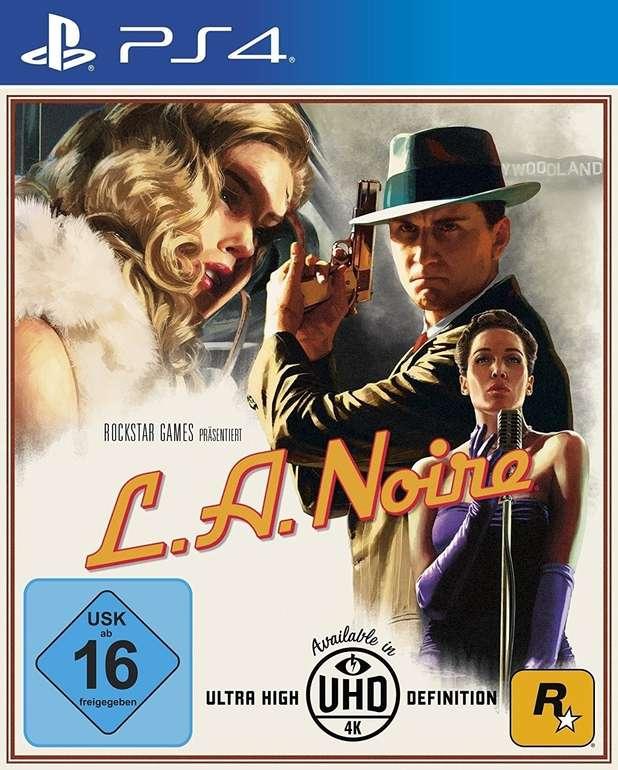 L.A. Noire für PS4 für 12,66€ inkl. Versand (statt 15€)