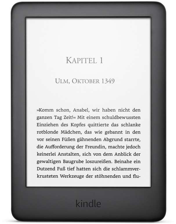 "Amazon Kindle 6 (2019) eBook-Reader (6"" Touchscreen, WLAN) für 51,95€ inkl. Versand"