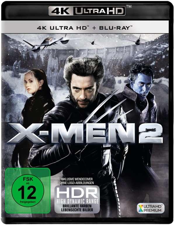 X-Men 2 (4K Ultra HD Blu-ray + Blu-ray) für 14,99€ inkl. Versand (statt 22€)