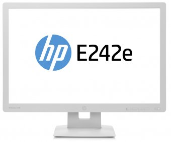 HP EliteDisplay E242e - 24 Zoll IPS LED-Monitor (Pivot, HDMI, 7ms) für 185€