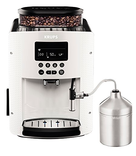 Krups EA8161 Kaffeevollautomat in weiß für 239,90€ inkl.  Versand