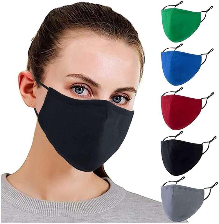 Bicophy 5er Pack Mund-Nase-Masken (29 Designs) für je 4,99€ inkl. Versand (statt 10€)