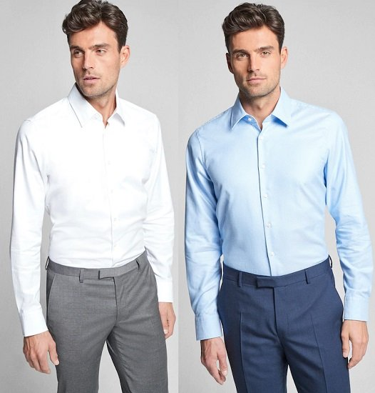 JOOP! Herren Hemd 'Martello' in Hellblau oder Weiß für je 45,78€ (statt 65€)