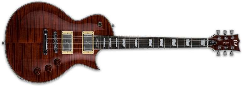 ESP LTD EC-1000 Fluence Tiger Eye Singlecut E-Gitarre für 777€ inkl. Versand (statt 1.066€)
