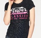 """Superdry Damen Rundhalsshirt """"Classic Star Entry Tee"""" für 22,46€ (statt 32€)"""
