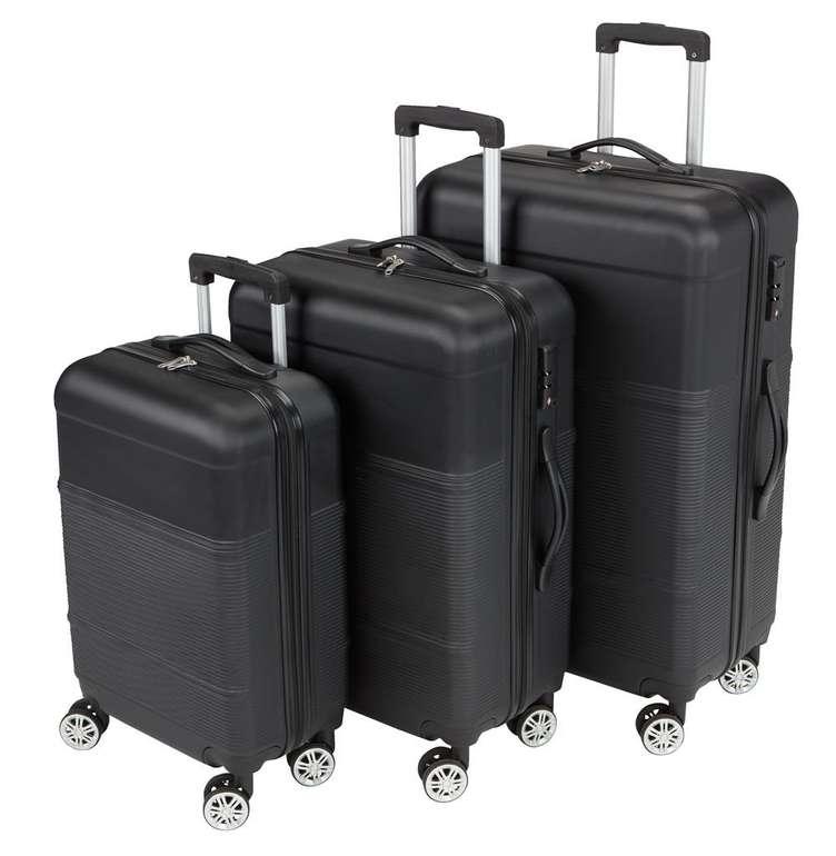 """3er Set Koffer """"Gusten"""" in Schwarz für 80,99€ inkl. Versand (statt 105€)"""