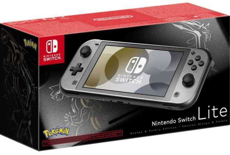Vorbestellung: Nintendo Switch Lite Dialga & Palkia-Edition für 208,49€ (statt 230€) - Saturn Card + Newsletter!
