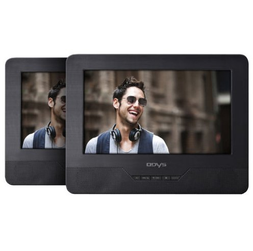 """Odys Seal Twin - 7"""" Auto DVD Player mit 2 Bildschirmen für 59,90€ (B-Ware)"""