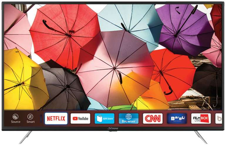 Strong SRT 43UB 6203 - 43 Zoll 4K UHD Smart-TV für 289€ (statt 336€)
