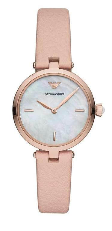 Emporio Armani Damenuhr (AR11199) in Rosa  für 129€ inkl. Versand (statt 149€)