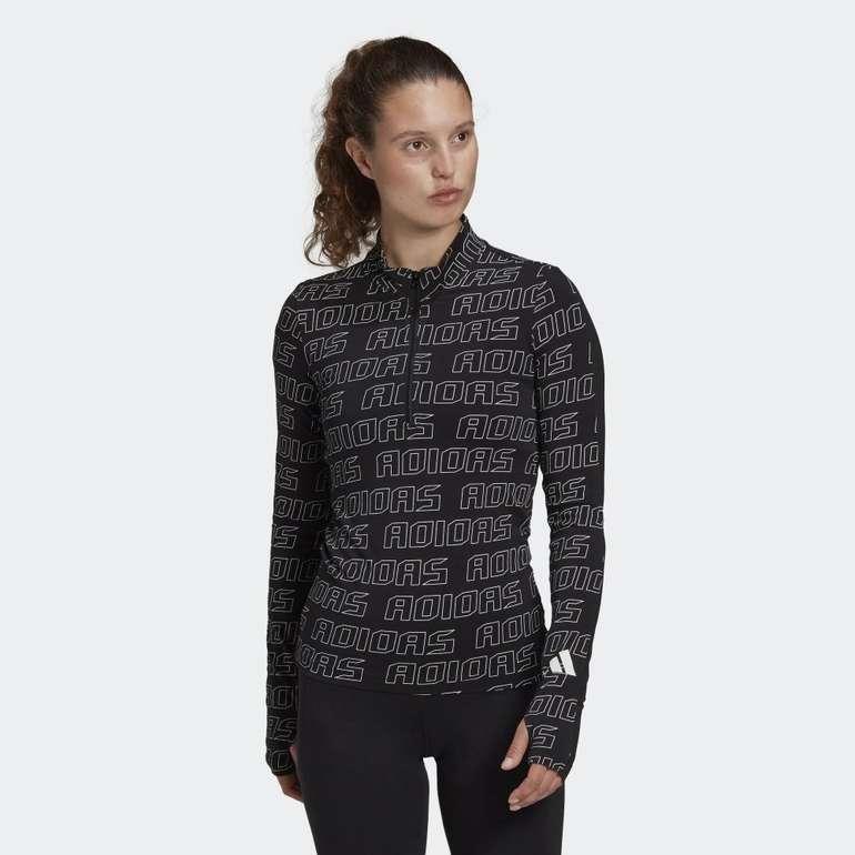 Adidas Damen Stretchy Half-Zip Longsleeve für 21,46€ inkl. Versand (statt 37€) - Creators Club
