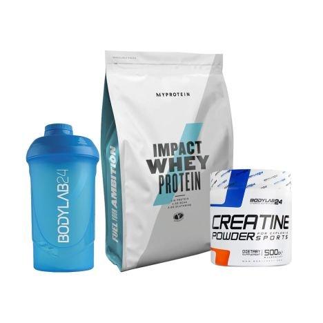 Impact Whey (1000g) + Bodylab24 Creatin Powder (500g) + 2x Shaker für 23,89€ (statt 35€)