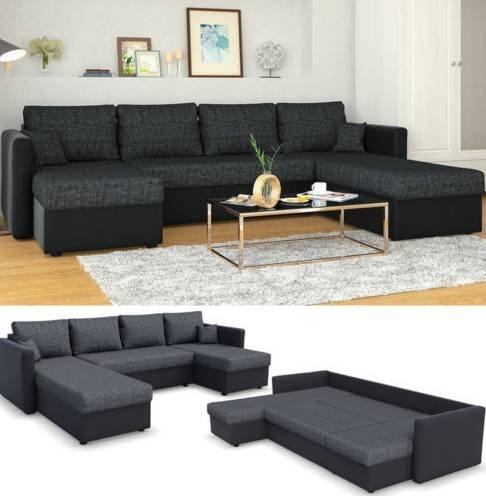 Vicco XXL Sofa mit Schlaffunktion für 539,90€ inkl. Versand (statt 590€)