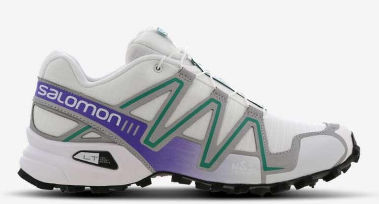 Salomon Speedcross 3 Herren Schuhe in Weiß/Lila für 69,99€inkl. Versand (statt 96€)