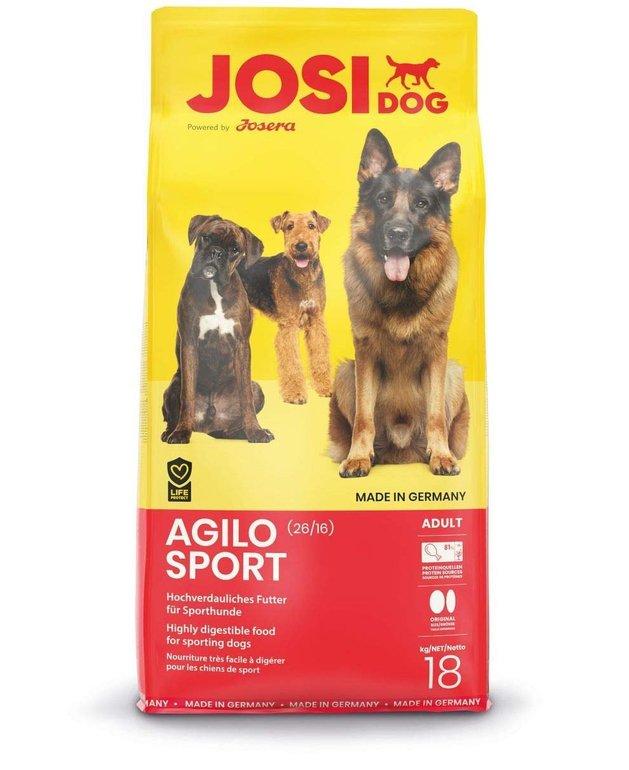 Josera Agilo Sport 18kg Beutel für je 20,45€ inkl. Versand (statt 32€)