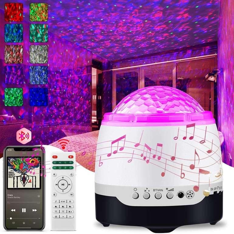 Ansody LED Sternenhimmel Projektor mit Bluetooth Lautsprecher für 9,99€ inkl. Prime Versand (statt 20€)
