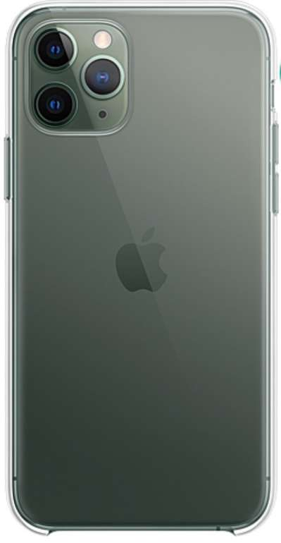 Original Apple iPhone Cases (Silikon, Transparent, Leder, Leder Folio) Sale - z.B. iPhone 11 Silikon Schwarz für 22,50€