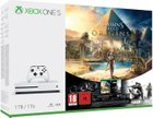 Microsoft Xbox One S Konsole 1TB + Assassin Creed Origins + Rainbow Six für 249€