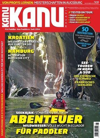 Kanu Magazin im Jahresabo (6 Ausgaben) für 38,80€ + 35€ Bestchoice Gutschein