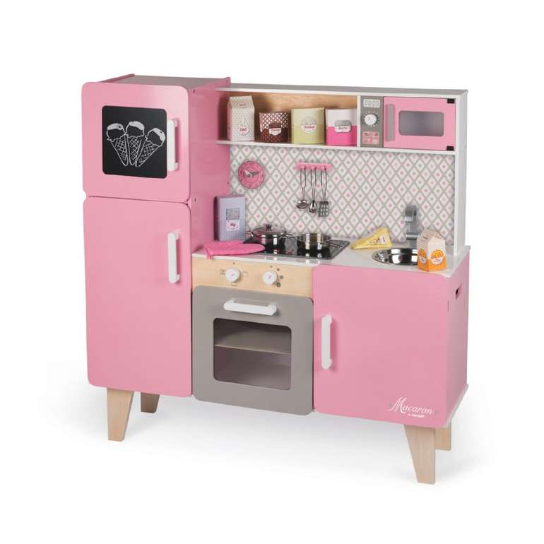 """Janod Kinderküche """"Macaron"""" Maxi mit Licht & Sound für 112,45€ inkl. Versand (statt 150€) + 10-fach babypoints"""