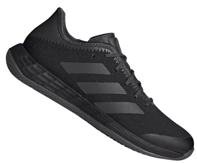 Adidas Adizero FastCourt Herren Sneaker in schwarz für 59,95€ inkl. Versand (statt 74€)