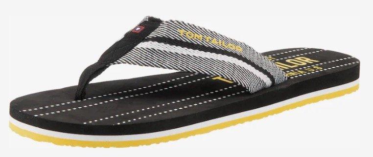 Tom Tailor Zehentrenner für 11,45€ inkl. Versand (statt 17€)