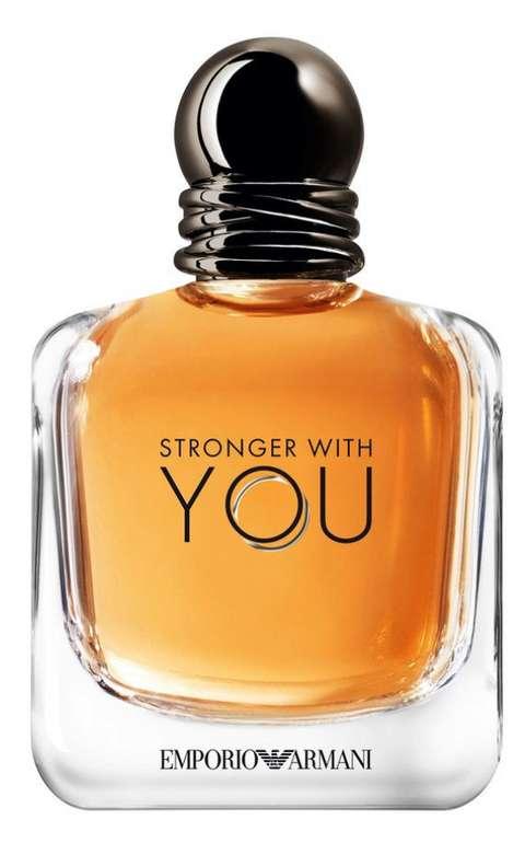 Giorgio Armani Emporio Stronger With You Eau De Toilette Parfum (100 ml) für 36,96€ inkl. Versand (statt 50€)