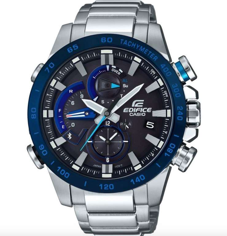 Casio Edifice (EQB-800DB-1AER) Bluetooth Herrenchronograph für 139,35€ (statt 340€)