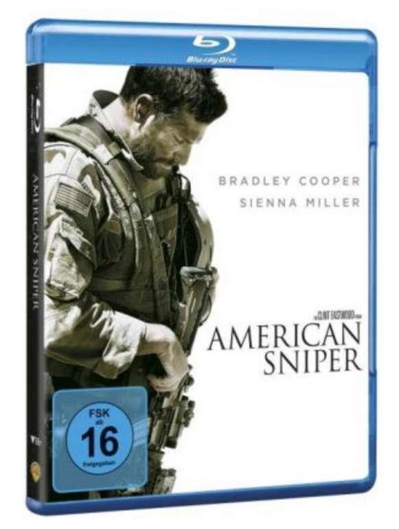 American Sniper 1 Blu-ray für 3,48€inkl. Versand (statt 10€)