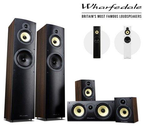 Wharfedale Crystal 4 5.0 HiFi Lautsprecherset für 305,90€ inkl. Versand