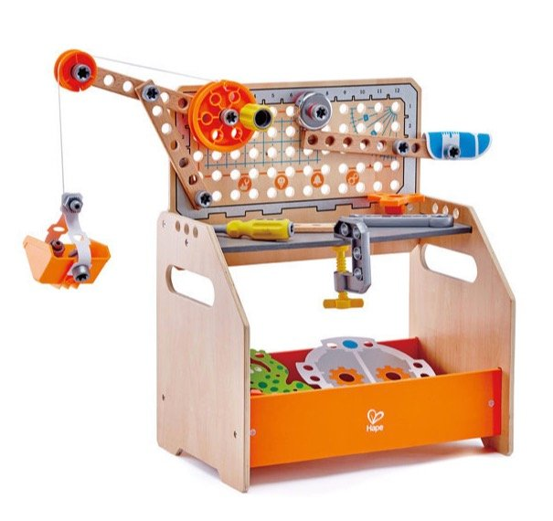 Hape Tüftler-Arbeitstisch, Kinderwerkzeug (E3028) für 39,98€ (statt 52€)