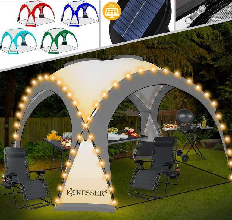 Kesser Pavillon mit LED (3,60 x 3,60 m) für 99,80€inkl. Versand (statt 160€)