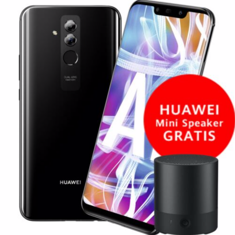 Huawei Mate 20 Lite Smartphone + Mini-Lautsprecher für 199,90€ (statt 240€)