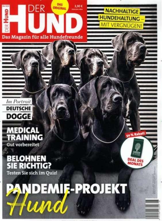 """Jahresabo """"Der Hund"""" mit 12 Ausgaben für 38,20€ + z.B. 20€ Douglas oder Zalando Gutschein"""
