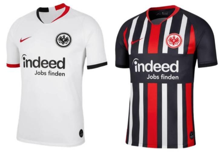Nike Eintracht Frankfurt Trikots 2019 /20 für 39,99€ (statt 50€)