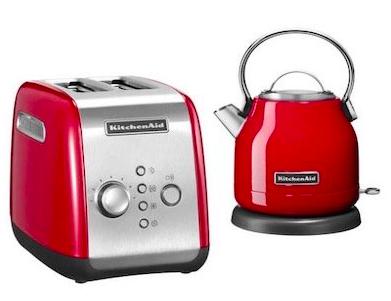 KitchenAid Frühstücks-Set (Toaster + Wasserkocher) zu 99€ inkl. VSK (statt 153€)