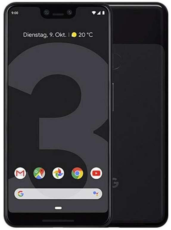 Google Pixel 3 XL (Just Black, 64GB) für 359€ inkl. Versand (statt 403€)