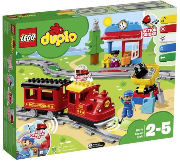 Lego Duplo - Dampfeisenbahn (10874) für 40,49€ inkl. Versand (statt 51€)