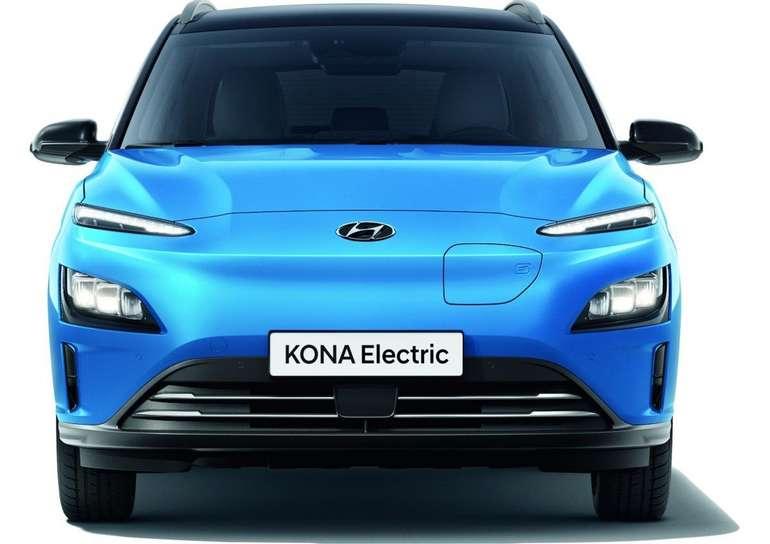 Hyundai KONA Elektro-Fahrzeug Modelljahr 2021 (204PS) für 121,82€ mtl. netto im Gewerbeleasing - LF: 0.34!