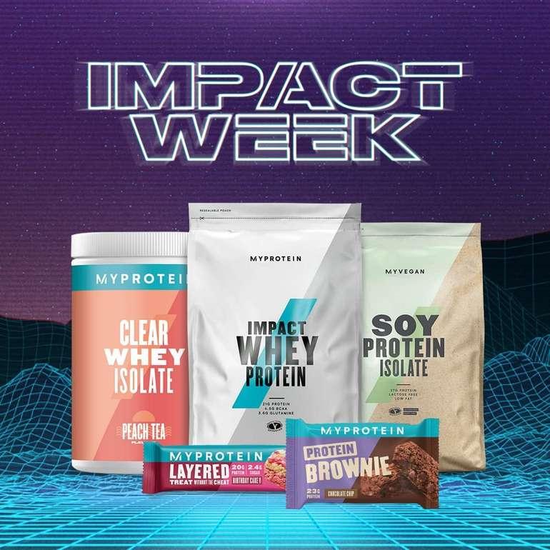 Letzte Chance: MyProtein: 47% auf Proteine + Gratisversand ab 50€ - z.B. 5kg Impact Whey Protein für 45,04€