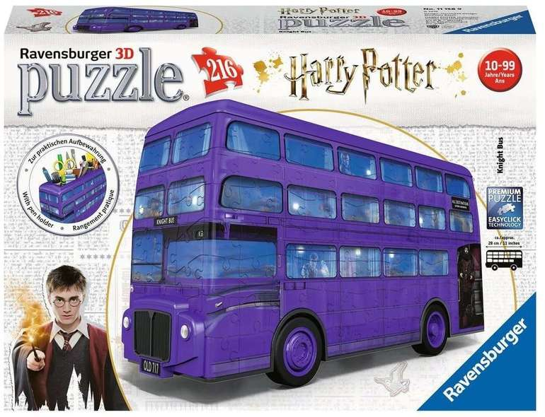 Ravensburger 3D Puzzle Harry Potter Knight Bus (216 Teile) für 19,79€ inkl. VSK