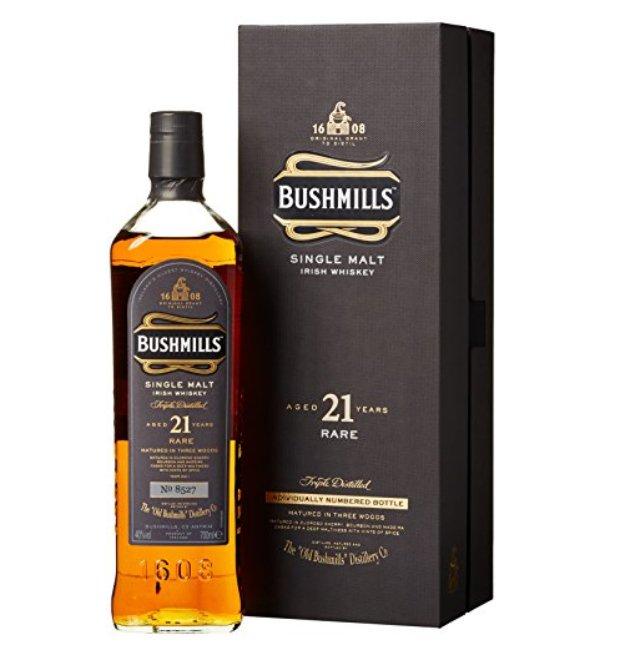 Bushmills 21 Jahre Single Malt Irish Whiskey für 114,90€ inkl. Versand