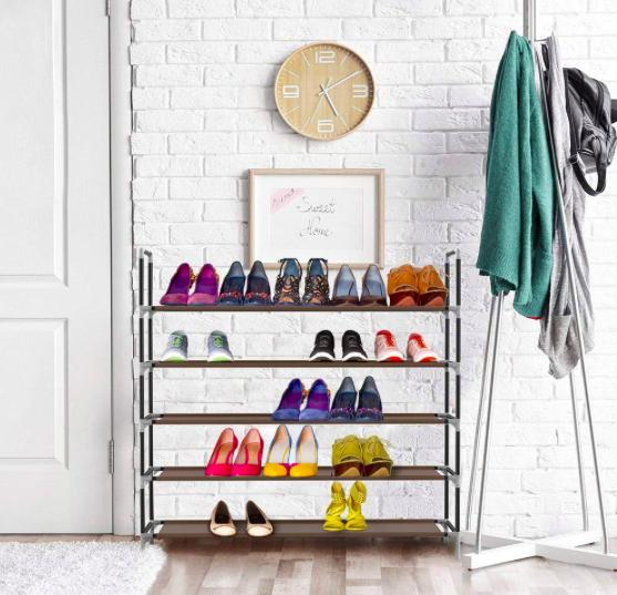 Sable Schuhregal mit 5 Ebenen für 25 Paar Schuhe nur 8,99€ (statt 12€)